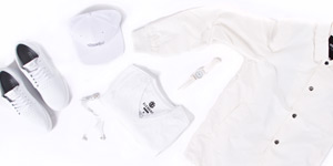 All white styles