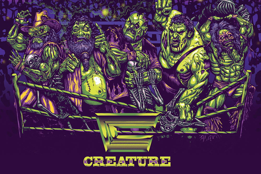 Free Creature Poster with every Creaturemania Deck