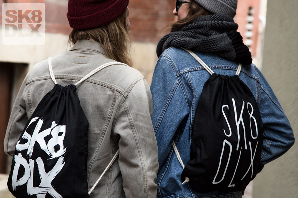 Free sk8dlx-Bag choosable with every order exceeding 200€
